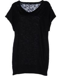 Les Copains Short Sleeve Tshirt - Lyst