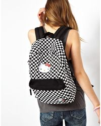 Vans Checkerboard Hello Kitty Backpack - Lyst