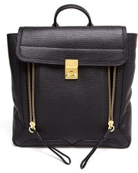 3.1 Phillip Lim Pashli Grained Leather Backpack black - Lyst