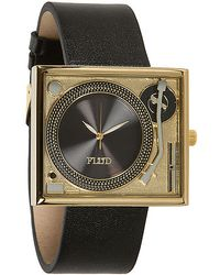Flud Watches - The Tableturns Leather Watch - Lyst