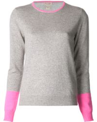 New Scotland - Cashmere Contrast Jumper - Lyst