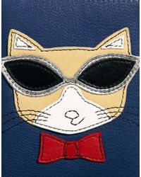 Ri2k - Sunglasses Cat Card Holder - Lyst
