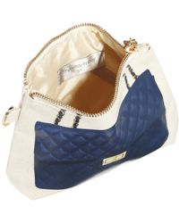Thursday Friday - Blue Diamonds Here Pochette Cosmetic Bag - Lyst