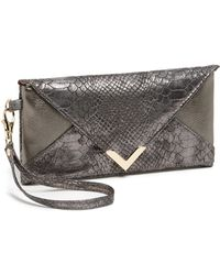 Big Buddha Mason Clutch - Lyst