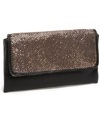 Big Buddha Mesh Clutch - Lyst