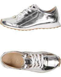 Elizabeth And James Sneakers silver - Lyst
