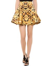 Josh Goot - Leopard Circle Skirt - Lyst