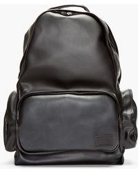 Kris Van Assche - Black Pvc Backpack - Lyst