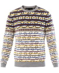 Marc By Marc Jacobs - Finsbury Fair Isle Knit Sweater - Lyst