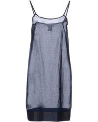 Paolo Errico - Short Dress - Lyst