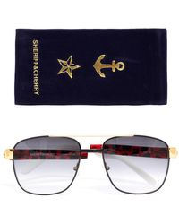 Sheriff & Cherry - G1 Jungle Square Sunglasses - Lyst