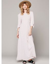 Free People Sweet Lady Maxi - Lyst
