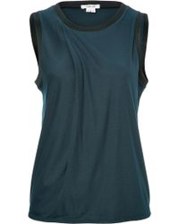 Helmut Lang Cashmere Blend Emission Top - Lyst
