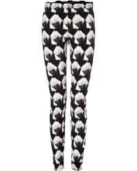 Theory Pitella Printed Leggings - Lyst