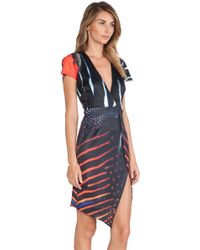 Ringuet - Abstract-Print Crepe Dress  - Lyst