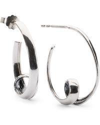 Trollbeads - Neverending Earrings, Big - Lyst