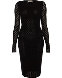 Temperley London Marquis Fitted Dress - Lyst