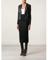 Acne Studios Rear Zip Skirt - Lyst