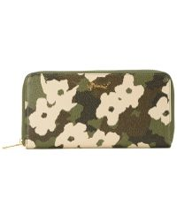 MUVEIL - Floral Camouflage Print Wallet - Lyst