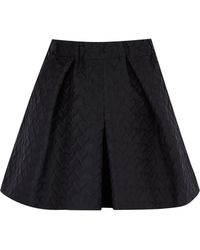 RED Valentino Black Heart Culottes - Lyst