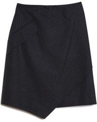 Carven | Tennis Pinstripe Skirt | Lyst