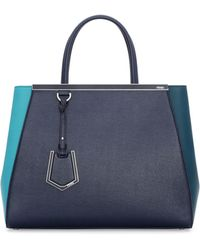 Fendi 2Jours Bicolor Shopping Tote Bag - Lyst