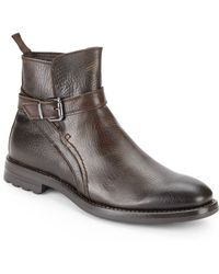 Vince Camuto Carlo Leather Boots - Lyst