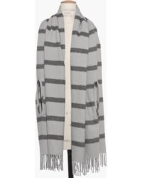 Madewell Cape Scarf in Stripe - Lyst