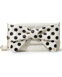 Betsey Johnson - Dots Enough Quilted Clutch - Lyst