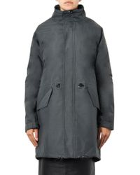 Julien David - Waterproof Parka Coat - Lyst
