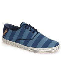Ted Baker 'Tobii' Canvas Sneaker blue - Lyst