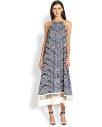 Sachin & Babi Verbana Shiboriprint Dress - Lyst