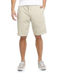 Tailor Vintage Reversible Plaidkhaki Twill Shorts - Lyst