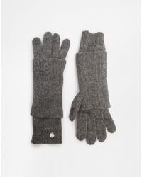 Esprit - Cosy Knit Gloves - Lyst