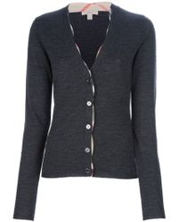 Burberry Cardigan - Lyst