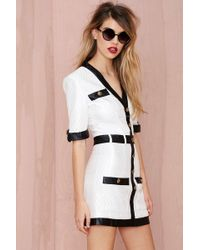 Nasty Gal Channelling Quilted Dress - Lyst