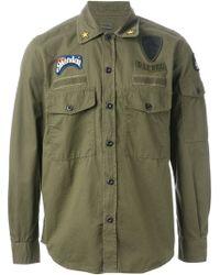 Diesel Green Spat Shirt - Lyst