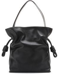 Loewe Flamenco Knot Leather Shoulder Bag - Lyst