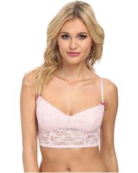 BCBGeneration The Count On Me Crop Bra - Lyst