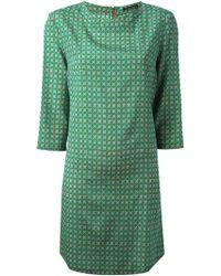 Laura Urbinati Polka Dot Jersey Dress - Lyst