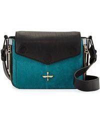 Pour La Victoire Noemi Leather Crossbody Bag - Lyst