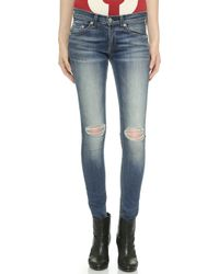 Rag & Bone The Skinny Jeans - Pacifico - Lyst