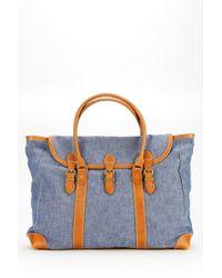 Tk Garment Supply - Denim Weekender Bag - Lyst