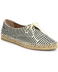 Tabitha Simmons Dolly Striped Grosgrain Espadrille Sneakers - Lyst