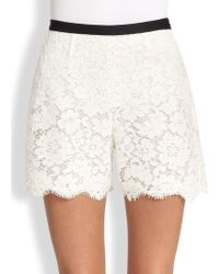 Honor Lace Shorts - Lyst