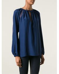 Altuzarra Loose Fit Blouse - Lyst