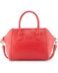 Furla Alice Leather Satchel Bag - Lyst