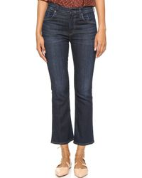Citizens of Humanity Fleetwood High Rise Crop Flare Jeans - Icon - Lyst