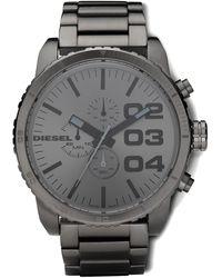 Diesel Gray Bracelet Watch - Lyst