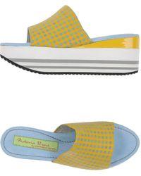 Materia Prima By Goffredo Fantini - Sandals - Lyst